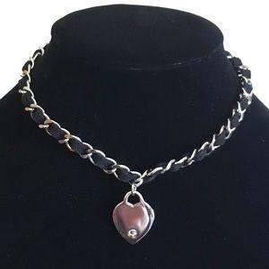 Gwen necklace collar choker pendant chain